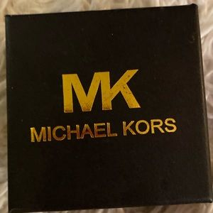 Michael Kors bracelet. Brown & Gold
